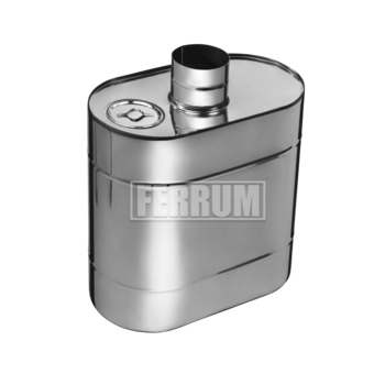 Бак Комфорт эллиптический с трубой 60л d=115 Феррум