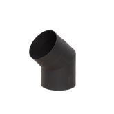 Отвод LAVA черный 45°, 2 мм