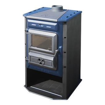 Дровяная отопительная печь Tim Sistem Magic Stove синяя