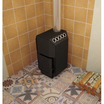 Печь для дома ТОП-модель 140 с чугунной дверцей